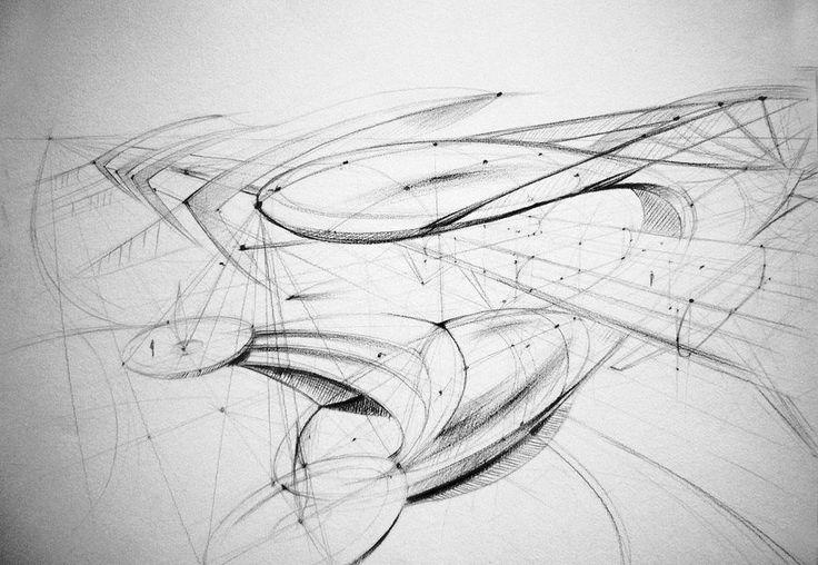 architectural sketch 3 by Mihaio.deviantart.com on @deviantART