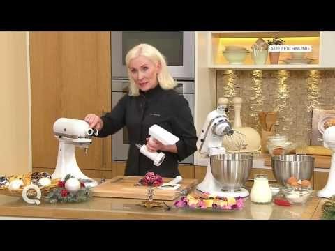 KitchenAid® Fleischwolf Aufsatz für Spritzgebäck erklärt - YouTube