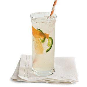 Grapefruit-Tequila Fizz Recipe