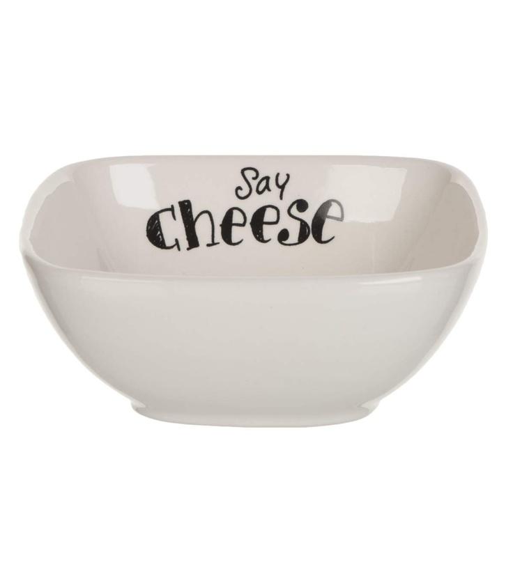 Say Cheese! Kaasblokjes schaaltje