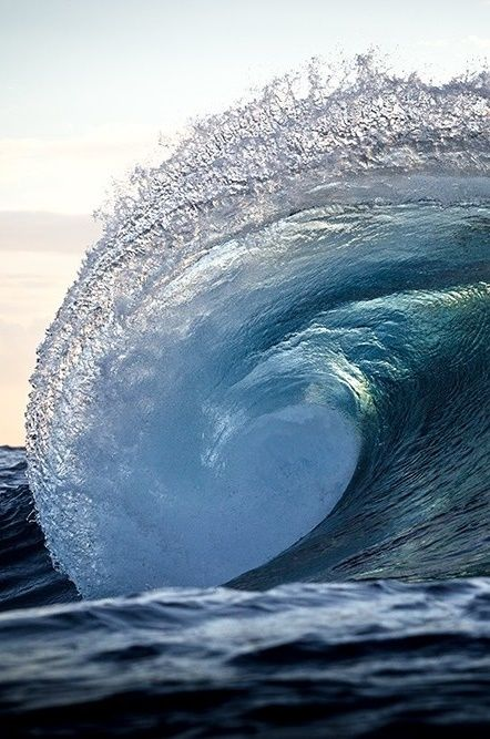 Best Waves Images On Pinterest Landscapes Sea Waves And Water - Incredible photographs of crashing ocean waves by ben thouard