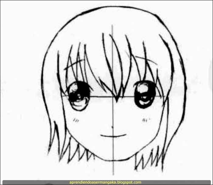 Dibujar Manga Rostro De Nina Paso A Paso Tutorial Dibujar Rostros Como Dibujar Animes Dibujo Paso A Paso