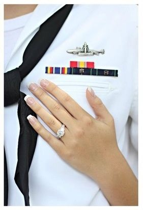engagement photo. But obviously not navy.