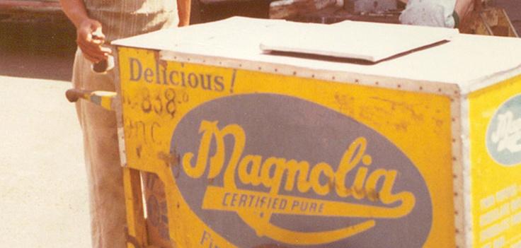 1970, la rivoluzione del gusto  Trasformazioni tecnologiche e nuovi macchinari permettono di creare nuovi gusti e soluzioni, la società frizzante e in movimento degli anni '70 modifica anche le tendenze in fatto di gelato. I gusti del gelato si moltiplicano.