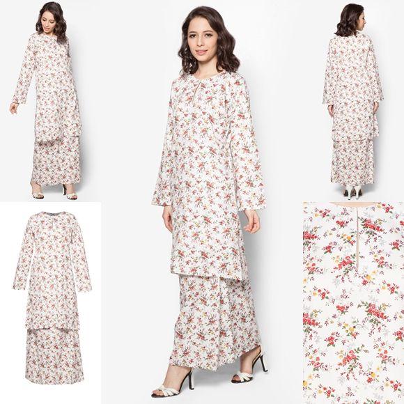Baju Kurung Cotton Warna Black Cream Baju Raya 2016 - SlideHD.CO 69ee4166a1