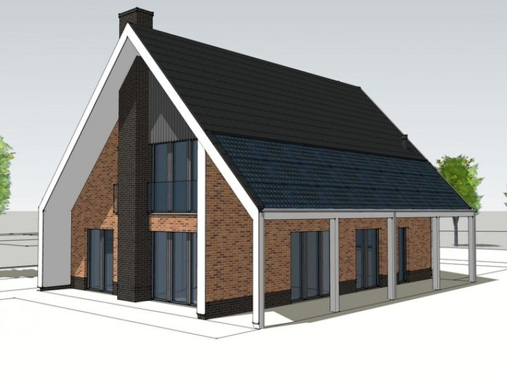 Nieuwbouw vrijstaand passief woonhuis