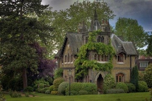 gorgeous Home house building Romantic gothic gothic architecture
