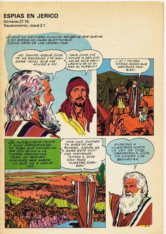 BIOGRAFIAS E COISAS .COM: A BIBLIA EM QUADRINHOS DE JOSE AO CERCO DE JERICO-LEITURA ONLINE EM ESPANHOL