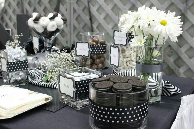 Cute black and white theme