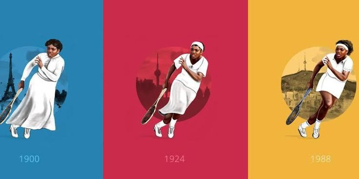 Des Jeux Olympiques d'Athènes à ceux de Rio, 120 années de tenues sportives résumées en une infographie