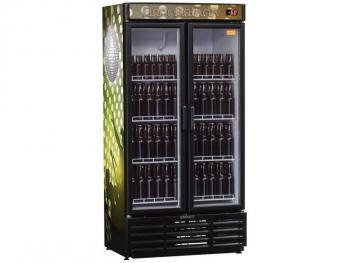 Cervejeira/Expositor Vertical 2 Portas 760L - Frost Free Gelopar GRBA-760PV