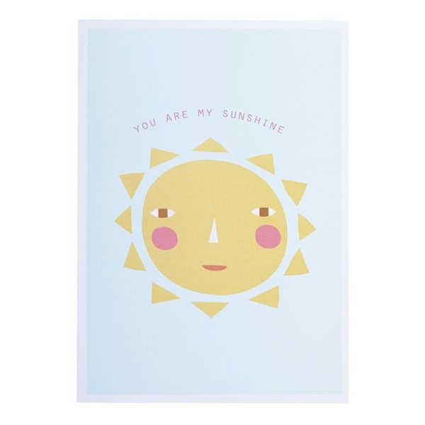 Smila Sol Ceiling Lamp Yellow: You Are My Sunshine