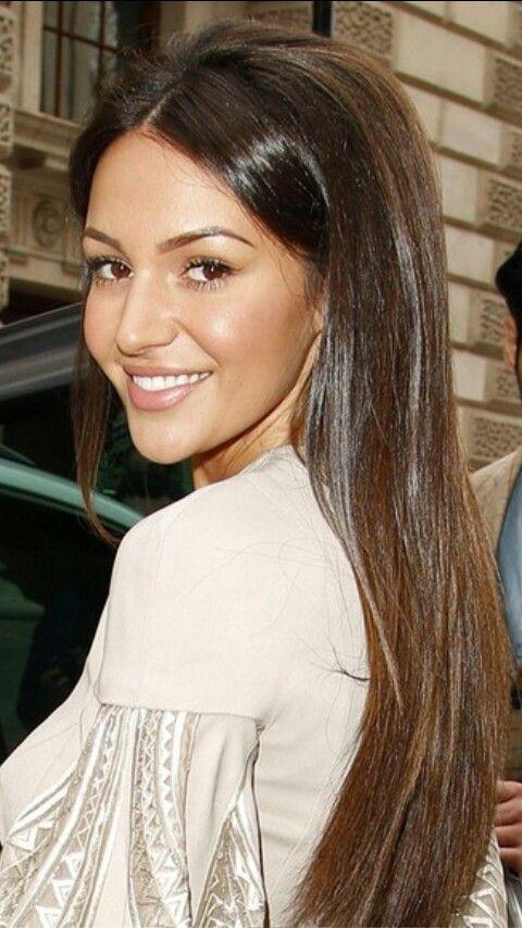Michelle keegan hair