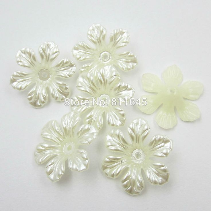 Cheap ivory ornament, Buy Quality bead activities directly from China bead Suppliers: Product InformationProduct Name: Imitation Pearl Flower  Material:Resin Size: 26mm