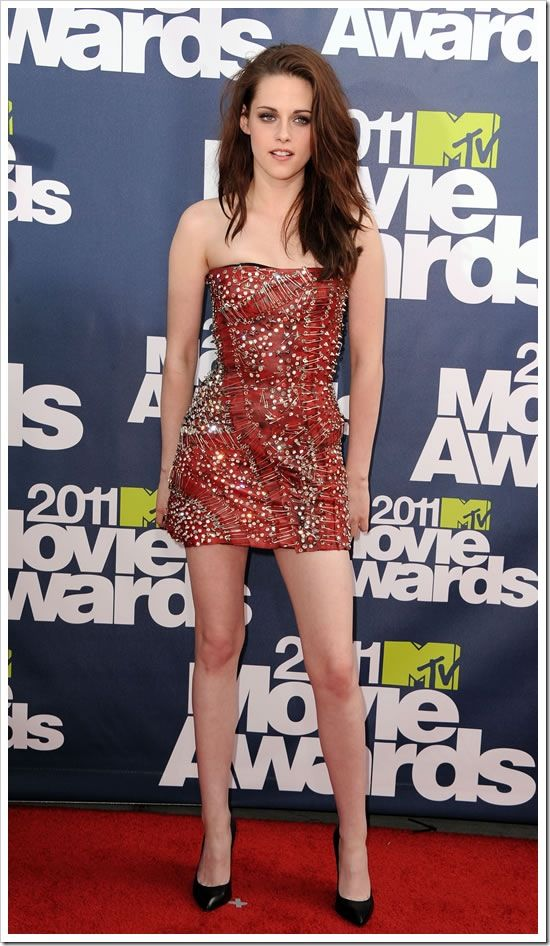 KRISTEN STEWART  MTV AWARED  | Kristen Stewart no MTV Movie Awards 2011 2 MTV Movie Awards 2011