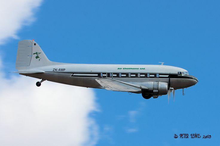 Air Chathams Douglas DC-3C-S1C3G (ZK-AWP)