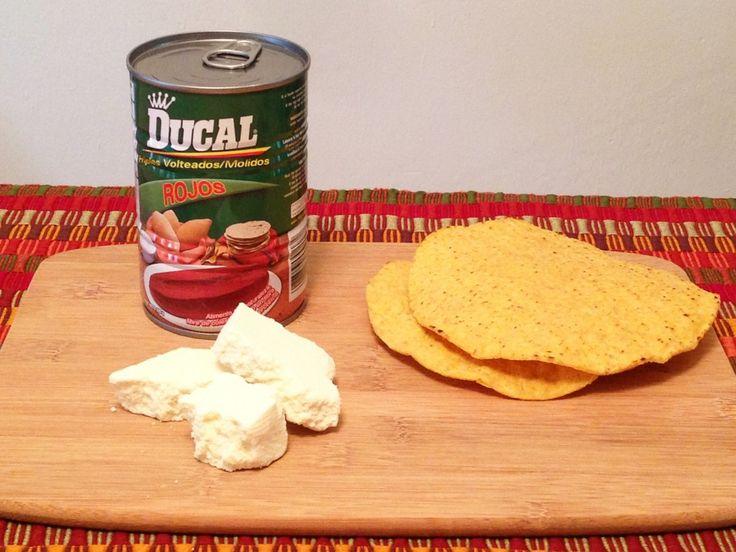 Tostadas frijoles recetas guatemala