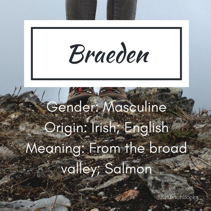 Braeden   Boyu0027s Name