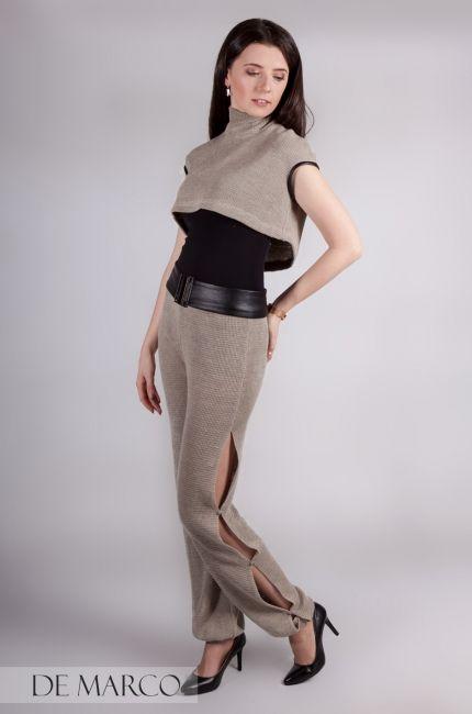 Lniane ubrania w kolekcji De Marco. Lekko zgrabnie i z pomysłem, spodnie z najnowszej kolekcji ! 💋🖤💋