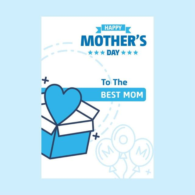 Kad Hari Ibu Dengan Kreatif Desain Vektor Hari Ibu Desain Vektor Kreatif