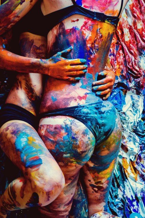 Art + making out, sign me up ;)