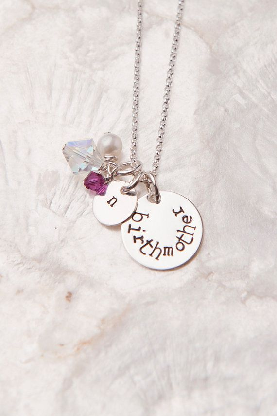 Birth Mother Necklace - cute but not my favorite of the things I have seen