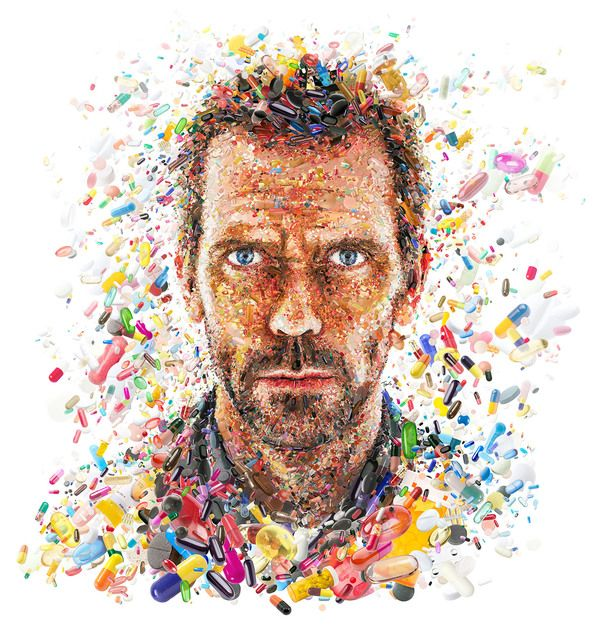 Hugh Laurie for TV Guide by Charis Tsevis
