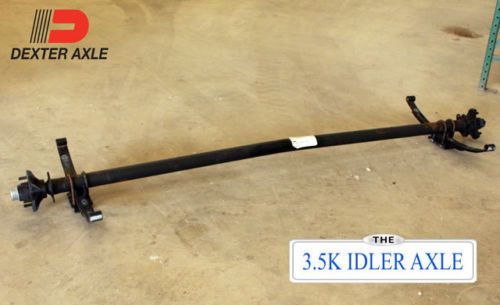 Dexter-3500-lb-Trailer-Axle-Kit-3-5k-Axle-Idler-5-lug-Utility-Boat-w-Springs