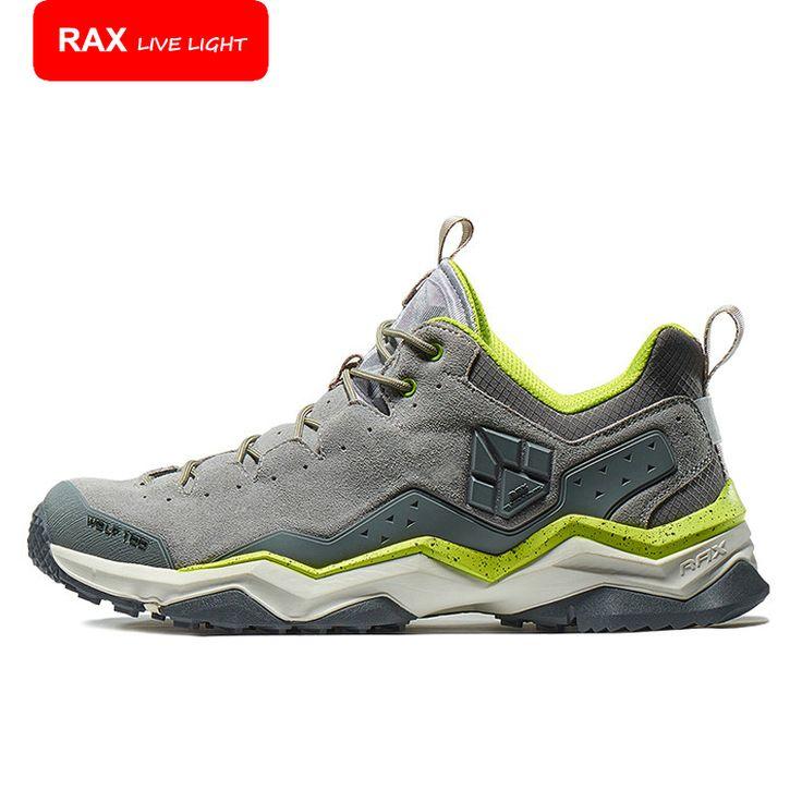 RAX 2016 Man Women's Brand Hiking Shoes,Climbing Outdoor Waterproof,River Trekking Shoes 63-5C371