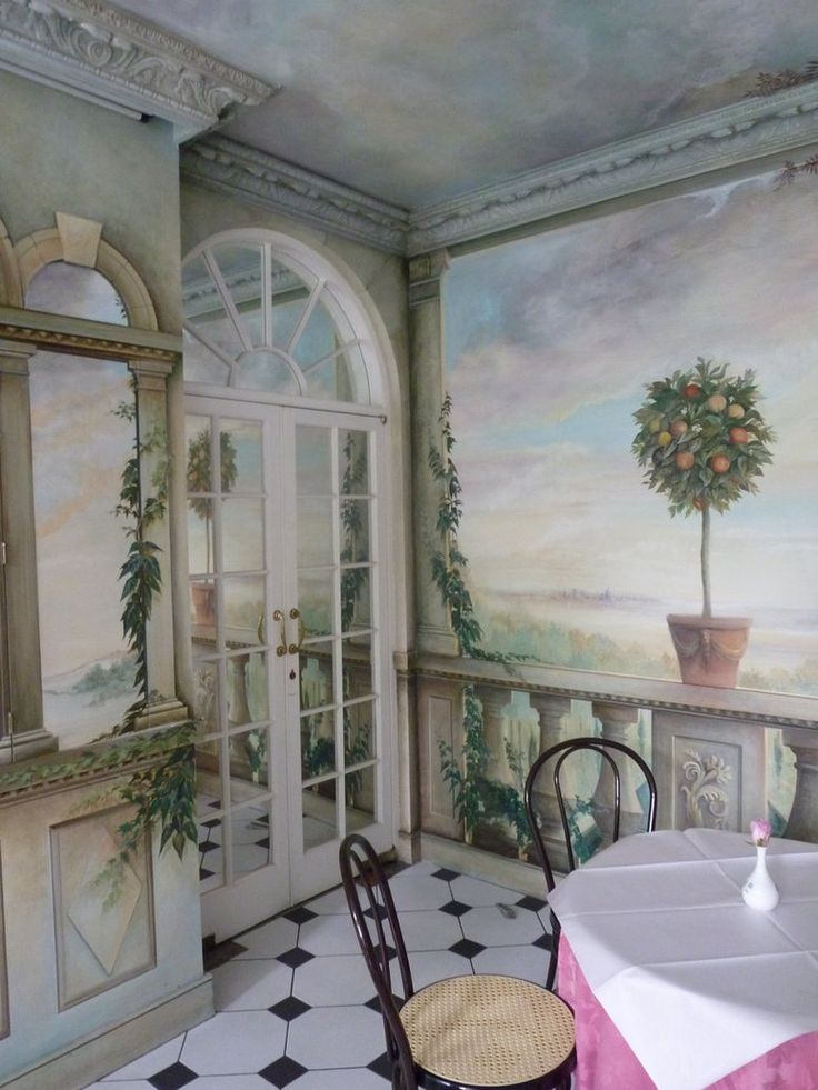 1000 images about tromp l 39 oeil on pinterest painter - Trompe oeil mural ...