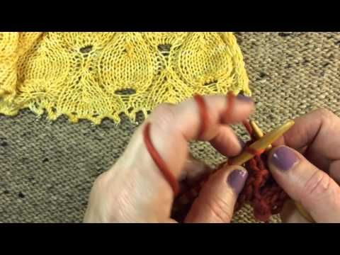 (2) Three Stitch Selvage Edge - Sheep to Shawl - YouTube