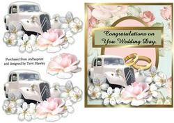 Congratulations on Your Wedding Day on Craftsuprint - View Now!