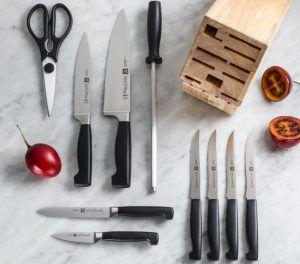 J.A. Henckels Knife Block Set Reviews #Knives