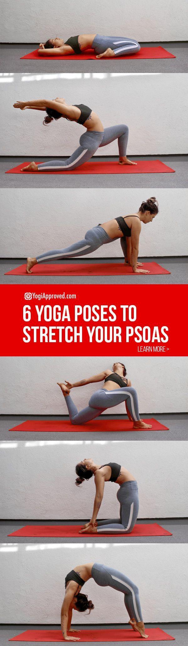 6 yoga poses!