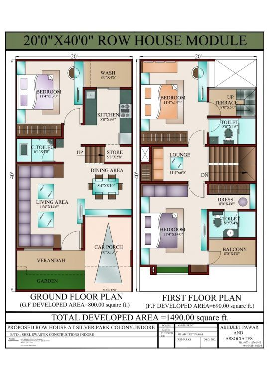 Free Duplex House Design: Home Inspiration: The Best Of West Facing House Plan 3