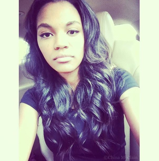 China Anne McClain Delicious Looking Plate Of Food July 7, 2013