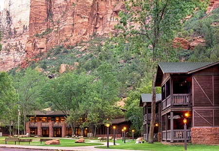 Zion Lodge, Zion National Park, Utah. Camping here was awesome but staying at the lodge will b nice too. It's a different & another experience