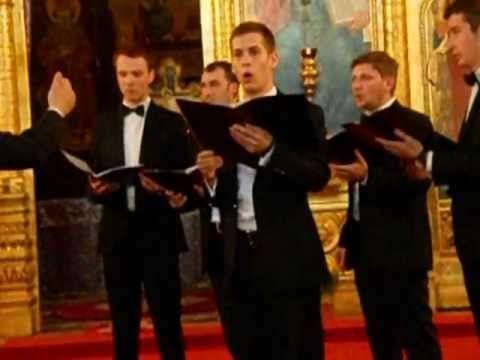 Corala Barbateasca Filotheos (Sibiu) - Doamne pe noi miluieste-ne - YouTube