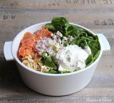 Tagliatelles aux épinards et au saumon fumé – One pot pasta