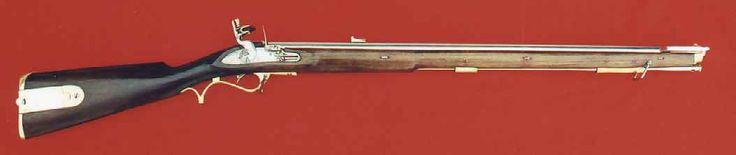 The Baker Rifle,  When the British went to war against Napoleon they revived the idea of using marksmen armed with rifles.  The Baker Rifle was designed specifically for British Rifleman, who also wore green uniforms.  British Rifleman with Baker Rifles were among the most legendary snipers of the flintlock era. Napoleon said these Rifles were the differece in a war won or lost.