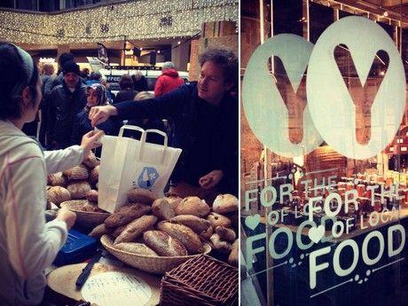 Food-y-Market: boerenmarkt met duurzaam voedsel in Hoog Catharijne
