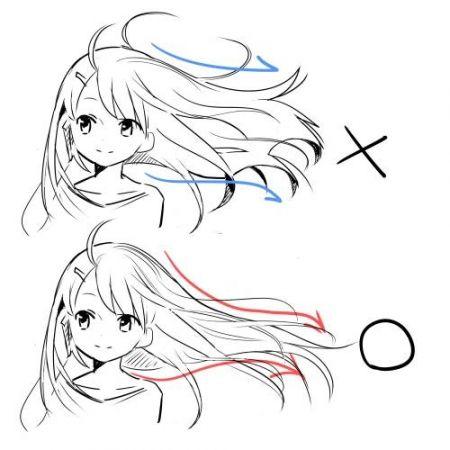髪の描き方9                                                       …