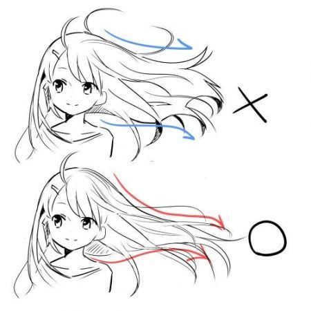 hair techniques for windy