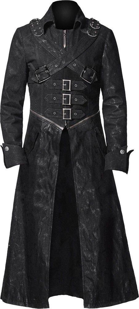 Best 20  Gothic coat ideas on Pinterest | Gothic steampunk ...