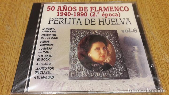 PERLITA DE HUELVA / 50 AÑOS DE FLAMENCO 6 / CD / DIVUCSA - 1991 / 16 TEMAS / PRECINTADO.