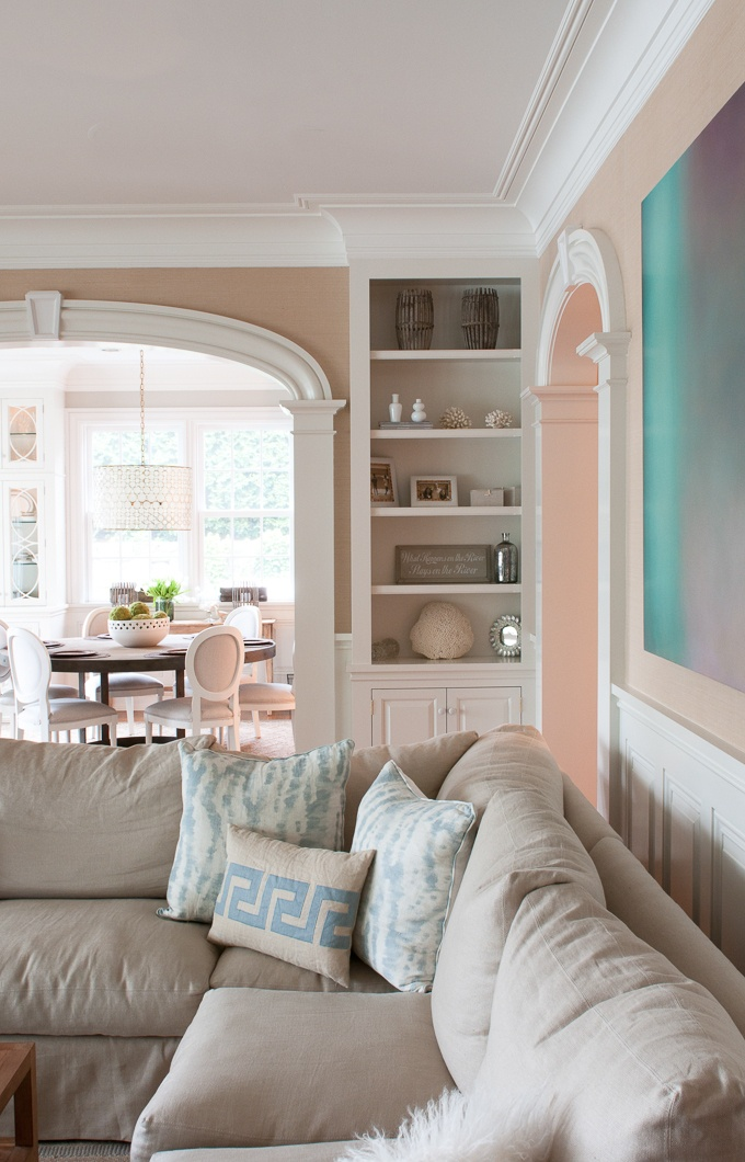Living Room Arch Decorations: 13 Best Images About Ideas For Separating Living/dining
