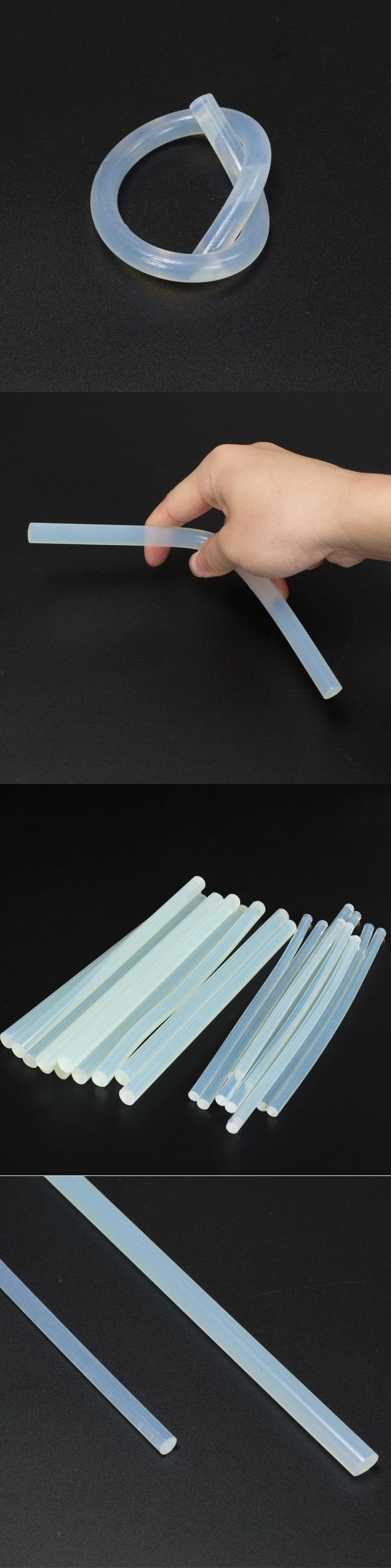 Hot Melt Adhesive Rods 7 * 220MM And 11 * 220MM White Transparent Hot Melt Adhesive Bar Technology Album Crafts Maintenance Tool