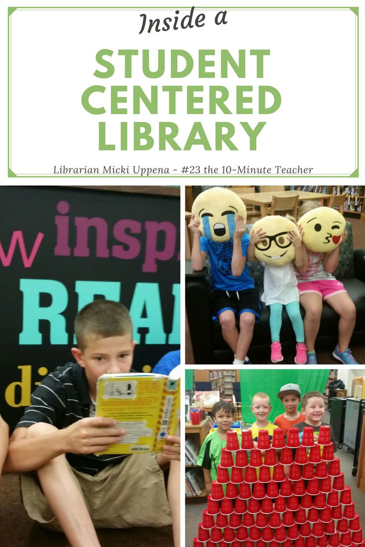 Creating a Student Centered Library Where Kids Love to Learn @coolcatteacher