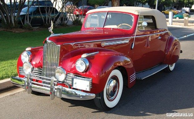 1942 Packard model 160 Victoria. Near perfect.