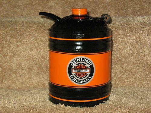 Vintage 1 Gallon Oil Can Harley Davidson Vintage